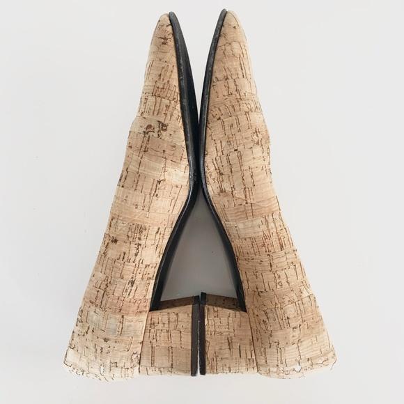 Etienne Aigner Shoes - Etienne Aigner Cork Sarah Block Heels 8.5